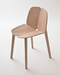 Bouroullec's Osso Chair  Manufactured using CNC's powered by solar energy from locally obtained wood without the use of any chemical treatments