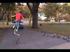 Unicycle Riders with lots of unicycles! Unicycle, Bike, Eccentric, Youtube, Preschool, Wheels, Inspiration, Bicycle, Biblical Inspiration