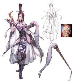 ArtStation - 一组三人~, lily chen