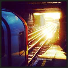 #Tube #train heading into the #winter #Leytonstone #sun. I #love #Kooky #London - get the #app http://bit.ly/11XgicP #ig_London #igLondon #London_only #UK #England #English #quirky #odd #photoftheday #photography #picoftheday #igerslondon #londonpop #lovelondon #timeoutlondon #instalondon #londonslovinit #mylondon #EastLondon #LondonUnderground #Padgram