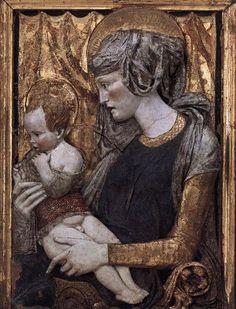 Donatello, Madonna and Child c. 1440 Polychrome terracotta, 102 x 74 cm Musée du Louvre, Paris