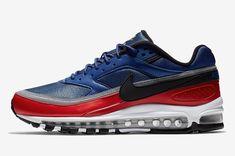 wholesale dealer ca221 779a4 Nike Air Max 97 BW Deep Royal Blue Black-University Red Men s Athletic  Sneakers AO2406-400