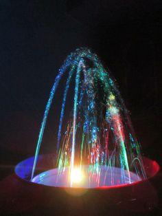 DIY garden fountain : DIY making of table top water fountain