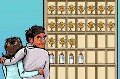 Roger Federer Cartoon