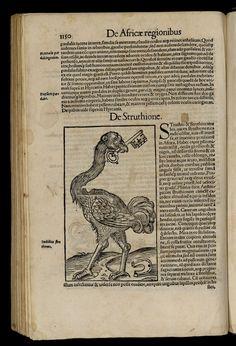 """Res. 2094 A – 13845 - 1226 - Sébastien Münster (1489-1552)  """"Cosmographiae uniuersalis Lib[ri] VI. in quibus, iuxta certioris fidei scriptorum traditionem describuntur, Omniu[m] habitabilis orbis partiu[m] situs, propriaeq[ue] dotes. Regionum Topographicae effigies…"""".  Basileae : apud Henrichum Petri, 1552 BNP Res. 2094 A."""