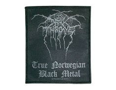 Dark Throne True Norwegian Black Metal - Official Patch. Licensed product. FREE SHIPPING.