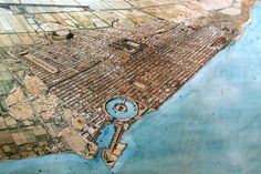 Artist's reconstruction of ancient Carthage