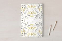 My Pretty Journal Notebooks by Phrosne Ras   Minted