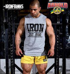 4077e356f Buy Gym & Fitness Clothes, Gym Gear, & Gym Apparel Online. Iron TanksBody  ...
