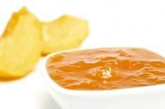 Mermelada de melocotón #receta #recetasMycook Chefs, Cantaloupe, Peanut Butter, Homemade, Fruit, Food, Squeezed Lemon, Peach Jam, Breakfast