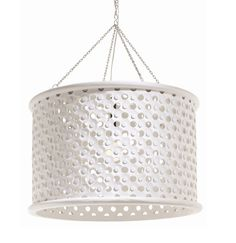 Jarrod Large White Pendant Light