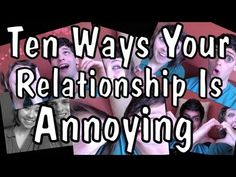 Ten Ways Your Relationship Is Annoying Your Friends
