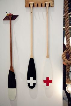 54 Best Decorative Wooden Oars And Ideas Images Nautical