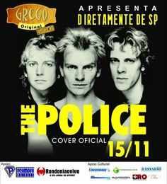 THE POLICE COVER em RONDONIA