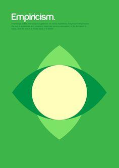 Philographics by Genís Carreras, via Behance - Empiricism