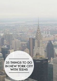 Planning a trip with teens can be intimidating but here are 35 things to do in New York City with teens.