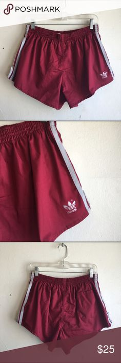 CLOSET CLEAR-OUT Adidas Soccer Shorts Maroon soccer shorts like new and in perfect condition. Built in briefs. One back pocket. #K039 adidas Shorts