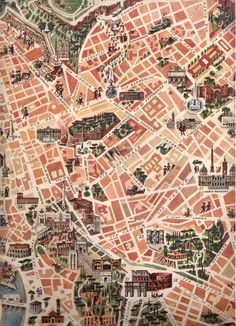 Map of Rome. Check out our latest post about Rome: http://travelwithmk.com