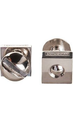 Paul Longmire Silver Nut & Bolt Cufflinks