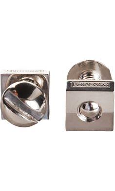 Paul Longmire Silver Nut & Bolt Cufflinks