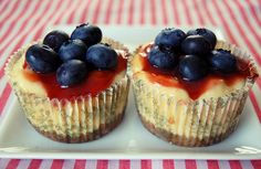 mini cheese cakes #yummy