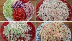 Odlehčená verze klasického těstovinového salátu, který dělávám na různé slavnostní příležitosti. Pouze s tím rozdílem, že zvyknu přidávat tatarskou omáčku, ale tentokrát jsem ji vyměnila za zakysanou smetanu a tak byl salát mnohem lehčí a stravitelnější. Autor: Triniti