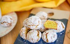 Amaretto limone! Spröda småkakor med en söt och seg kärna! Magiskt goda!