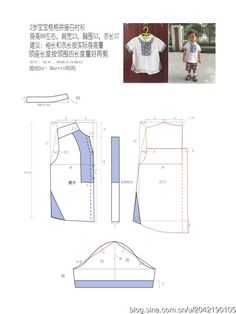 trendy sewing patterns for boys clothes shirts Baby Pants Pattern, Baby Dress Patterns, Kids Patterns, Sewing Patterns Free, Sewing Blouses, Sewing Shirts, Baby Sewing, Kind Mode, Shirt Outfit