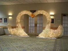 Wedding Reception With Balloon Decorations