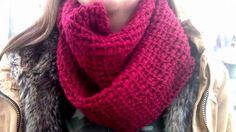 gehaakte kol sjaals, gratis haakpatroon kol sjaal, tutorial crochet scarf, wibra, Zeeman, kol haken,gratis haakpatroon kolsjaal