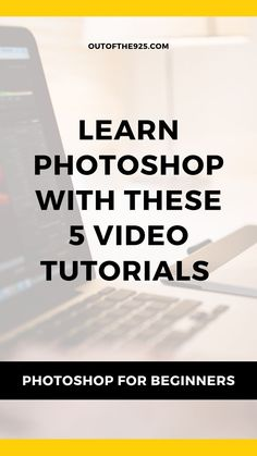 Photoshop with these 5 video tutorials. Photoshop tutorial for Beginners. Edit photos and create beautiful images with Photoshop after watching these clear and helpful video lessons. Photoshop Website, Cool Photoshop, How To Use Photoshop, Photoshop Photos, Photoshop Tutorial, Photoshop Actions, Photoshop Course, Photoshop Lessons, Photoshop Elements