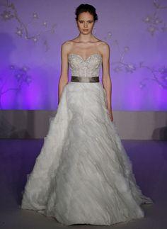 Lazaro Bridal Gowns, Wedding Dresses: Style LZ3063
