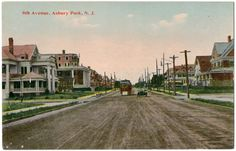 Vintage Divided Back Postcard Asbury Park New Jersey Heath's 5 10 Cent Store | eBay