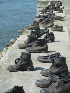 Shoes on the Danube, Budapest - A visit to this poignant memorial to the victims shot down into the Danube in Budapest