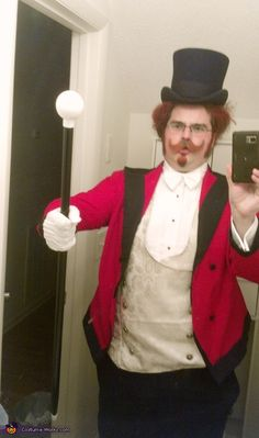 Harold Zidler Costume - 2013 Halloween Costume Contest- This is absolutely amazing!!!