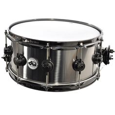 Titanium is considered by many to be an ultra-high-end snare shell material. It's boutique origins and less-metallic sound make it a preferred drum for many professional studio and touring drummers. T