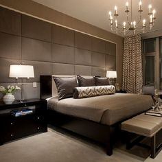 Atlanta Living! #grey #silver #silk #bed #bedroom #beds #b… | Flickr