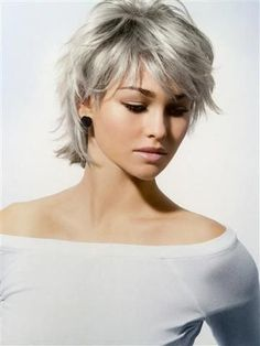 Résultat d'images pour Short Hair Styles For Older Women 20360 × 480 Pixel Source bynot sure it would work on my fine, thin hair.short shaggy hairstyles that you need to try this yearA style I can grow into. Medium Thin Hair, Short Thin Hair, Short Grey Hair, Short Hair With Layers, Short Hair Cuts, Medium Hair Styles, Short Hair Styles, Short Choppy Layers, Shaggy Short Hair