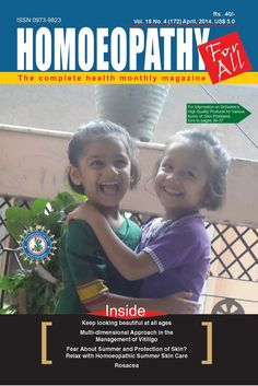 Homoeopathy for all  Magazine - Buy, Subscribe, Download and Read Homoeopathy for all on your iPad, iPhone, iPod Touch, Android and on the web only through Magzter
