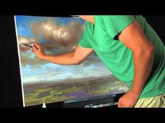 Chaotic Skies - Time Lapse Acrylic Expressionist Landscape Painting by Tim Gagnon. Visit Tim Gagnon Studio at http://www.timgagnon.com/ for more information and online lessons.