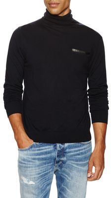 Wool Turtleneck Sweater - Shop for women's Sweater - navy Sweater