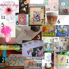 Mothers Day Crafts from Crafterminds ladies!