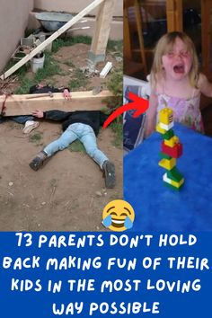 Parenting is not easy but it doesn't mean it's not fun. Having fun with your kids is one of the most amazing things that you can do as a parent. Making fun of them is another story.
