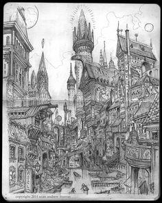 SEANandrewMURRAY'S sketchblog: Gateway Sketch - Smoketown Canal
