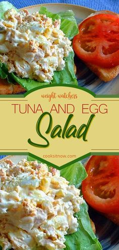 Weight Watchers Tuna And Egg Salad Recipe.Healthy Tuna Egg Salad With Weight Watchers Points . Weight Watchers Zero Point Tuna Salad Recipe The Holy Mess. Healthy Foods To Make, Healthy Food List, Healthy Eating Recipes, Tuna Egg Salad, Healthy Tuna Salad, Chicken Egg Salad, Shrimp Salad, Weight Watchers Salat, Weight Watchers Tuna Salad Recipe