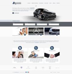 99Design car dealer - Website design