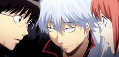 Gintama Movie 2 The Final Chapter - Be Forever Yorozuya Gintama Gif, Gintama Funny, Tumblr, Gintama Live Action, Manga, Gintama Wallpaper, Silver Samurai, Random Gif, Fotografia