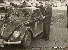 Tour de Belgique 1954 Frans Thevelin − Yvette Thevelin-Destrebecq − Volkswagen