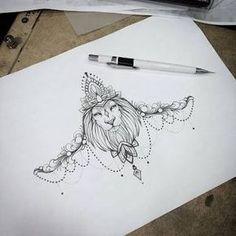 Resultado de imagem para mandalas 3d tattoo underboobs