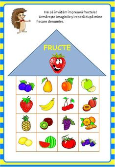 Învățăm jucându-ne: Fructele - Logorici Farm Activities, Montessori Activities, Kindergarten Crafts, Kindergarten Worksheets, Fruit Crafts, Shape Templates, Romans, Crafts For Kids, Floral